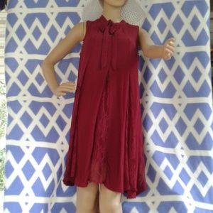 Super cute Women's maroon xhilaration dress
